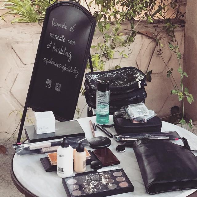 #palomacruzbrideday Luego comparto una foto del maquillaje, hemos centrado el trabajo en la naturalidad y luminosidad de la piel ? @palomacruzeventos