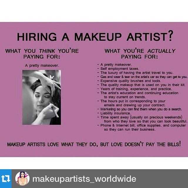 #Repost @makeupartists_worldwide・・・