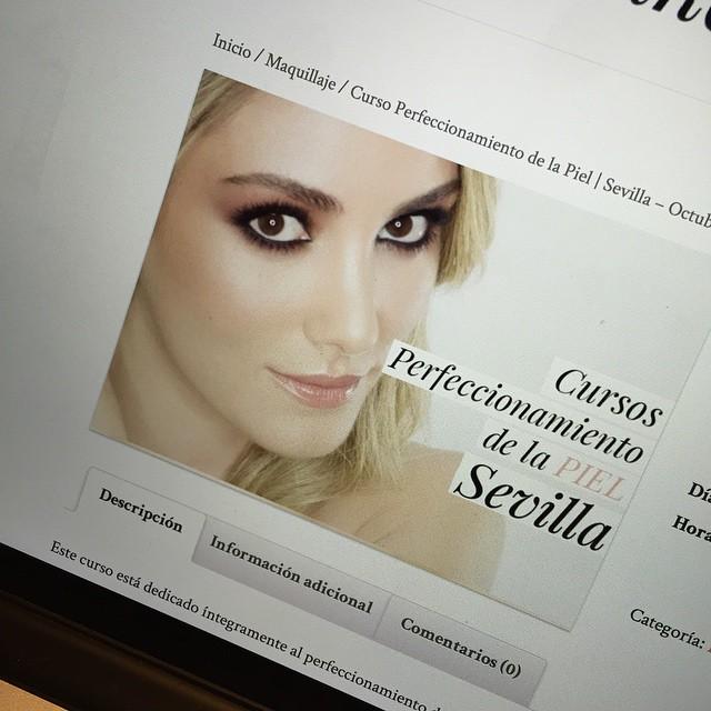 Ya abierta la reserva para los cursos de Sevilla! Ahumados en Septiembre y Perfeccionamiento de la Piel en Octubre. Link directo en mi perfil! ?