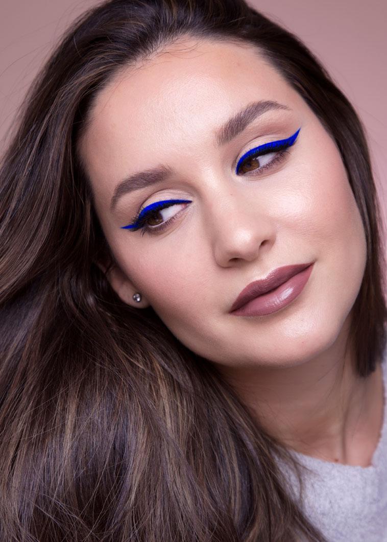 Cobalt Blue Eyeliner