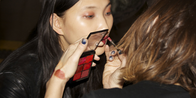 080 BCN Fashion A/W 2013: MAC Backstage